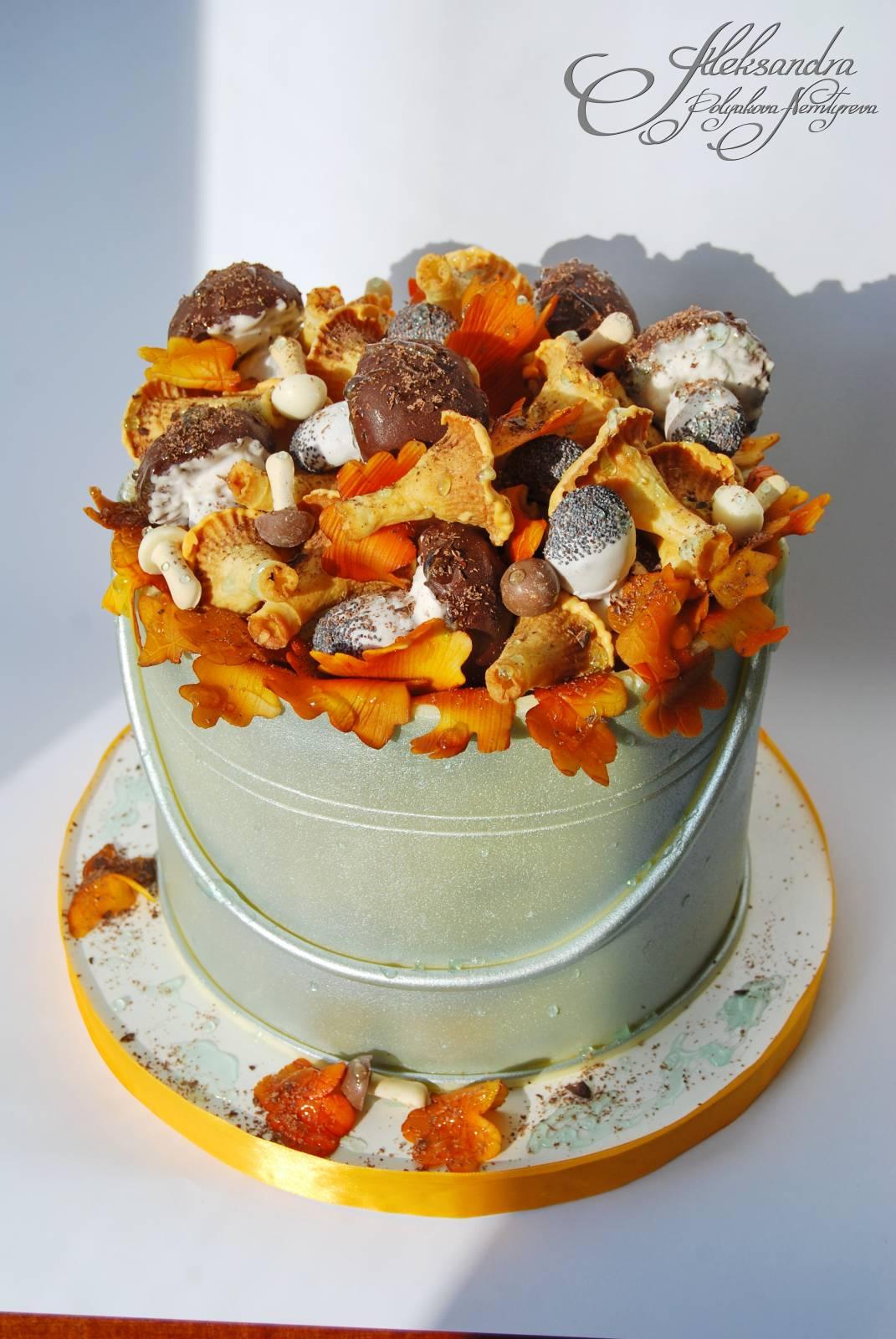 Торт после дождя торты мастичные