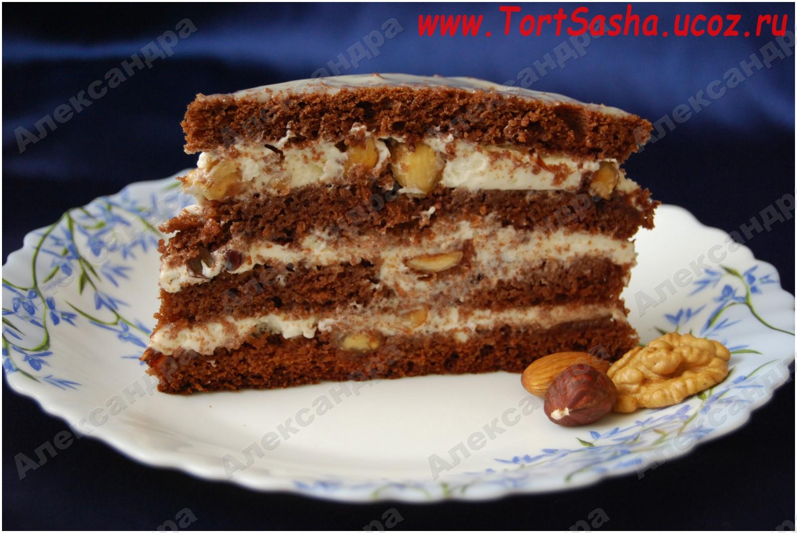 и торт фото изюмом орехом с