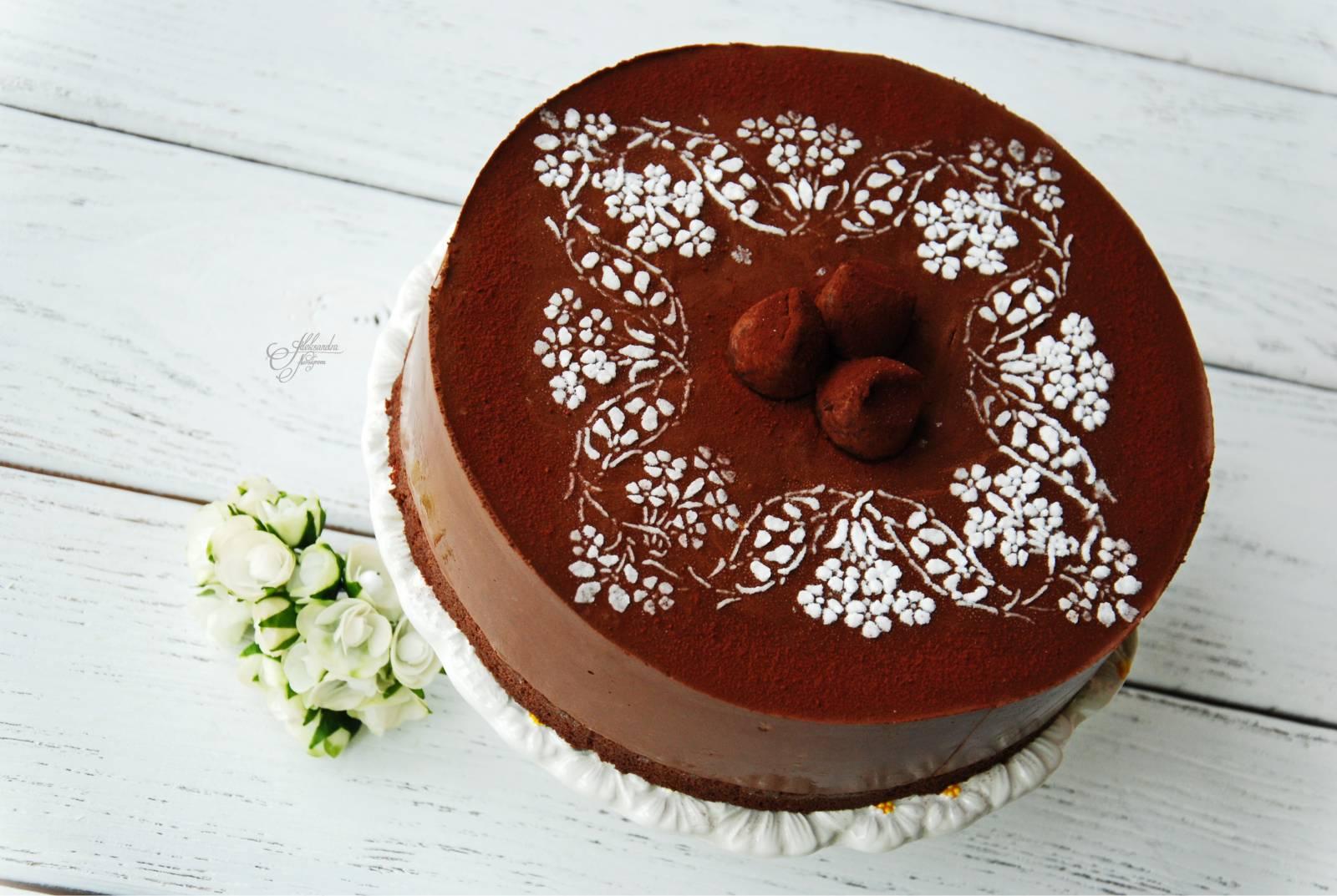 Как украсить торт шоколадом в домашних условиях: различные узоры 70